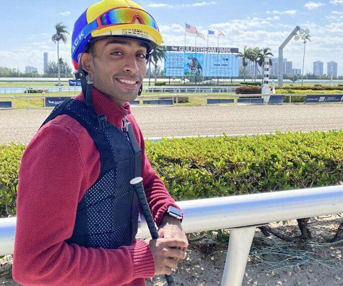 René Diaz fait une percée à Gulfstream en remportant sa première victoire